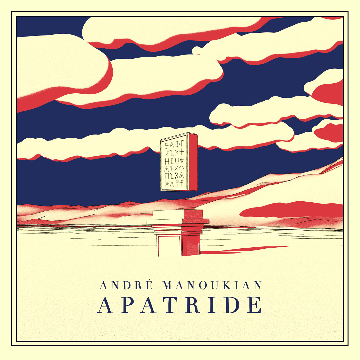 andre manoukian apatride cover