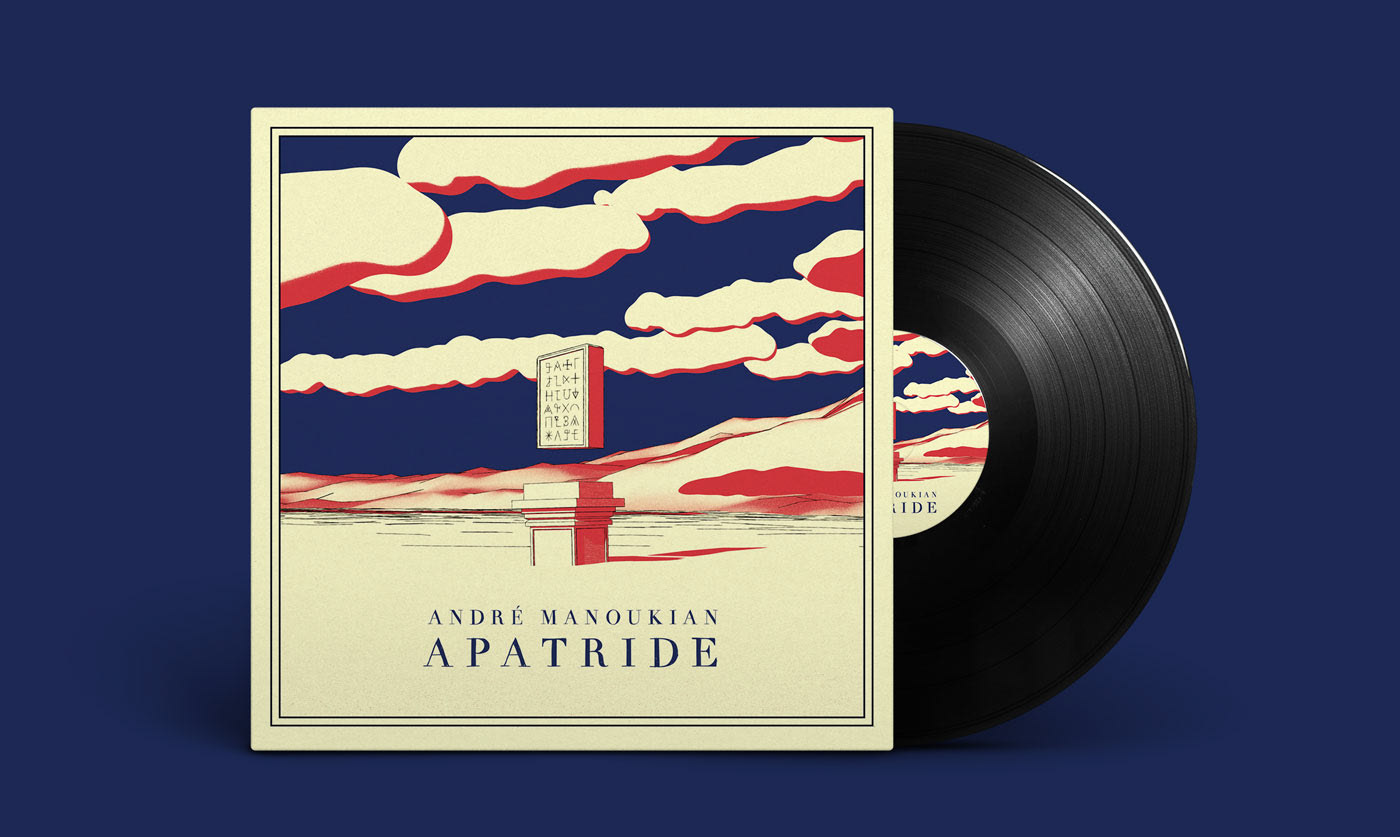 andre manoukian apatride vinyl records cover