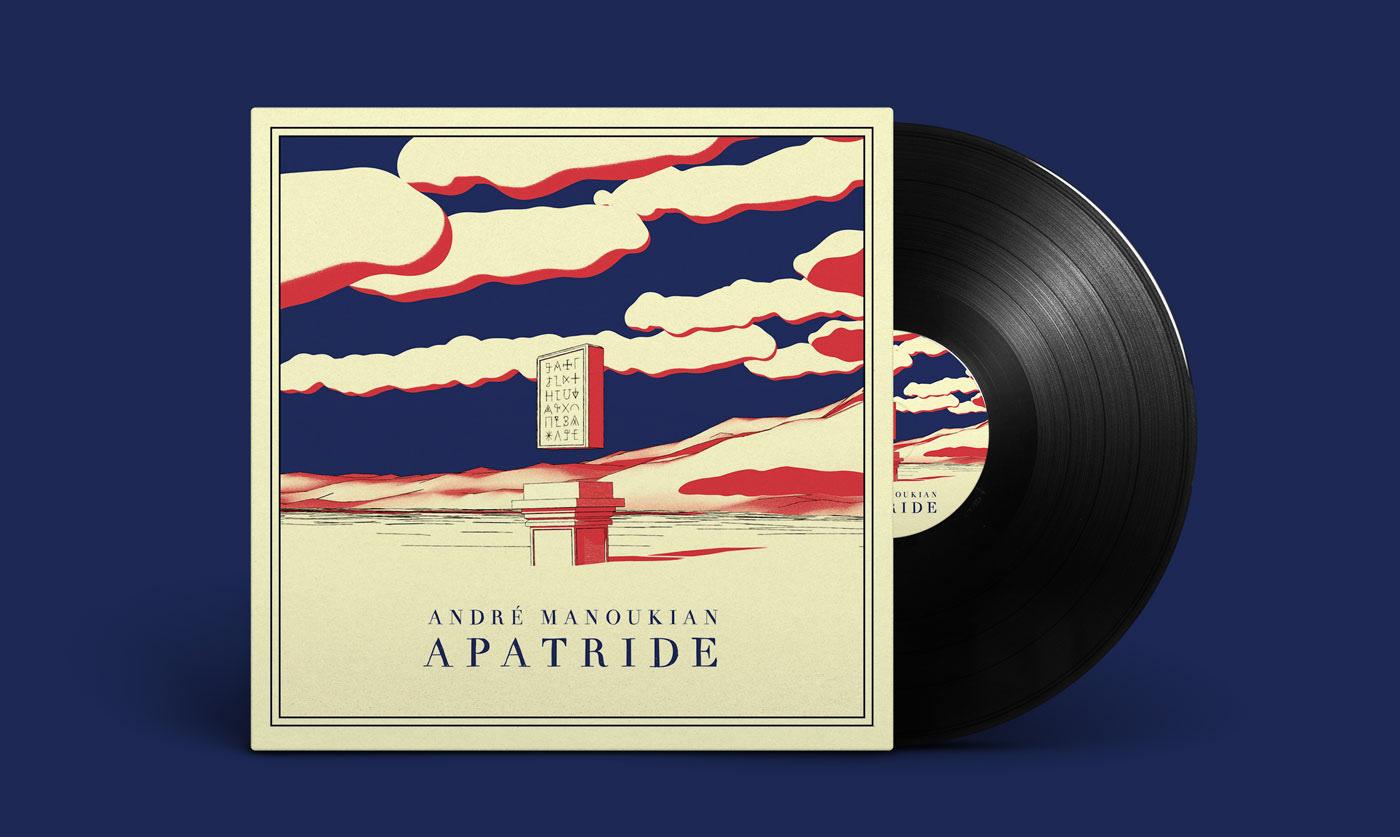 andre manoukian apatride vinyl records cover