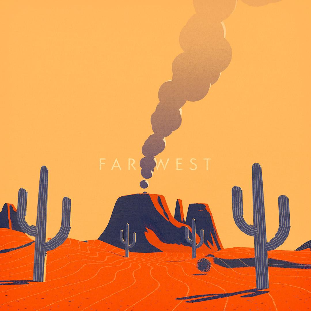 far west animation illustration still frame 2