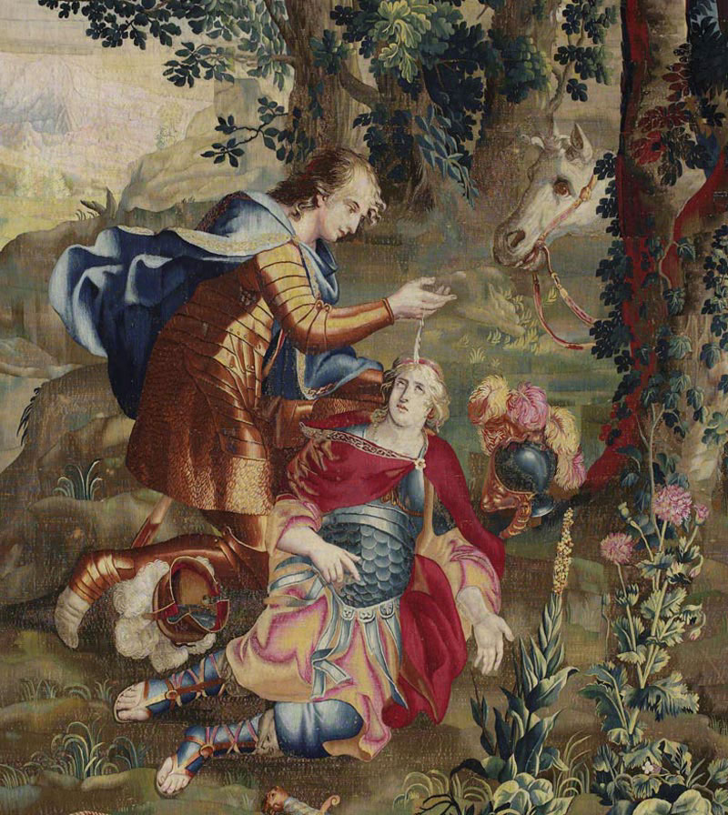 CMN Original tapestry bapteme Clorinde