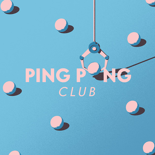 Ping Pong Club Motion Title Machine