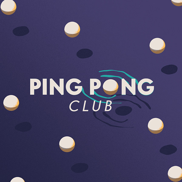 Ping Pong Club Motion Title Liquid