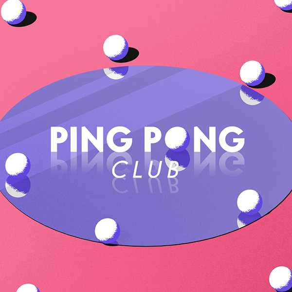 Ping Pong Club Motion Title reflect