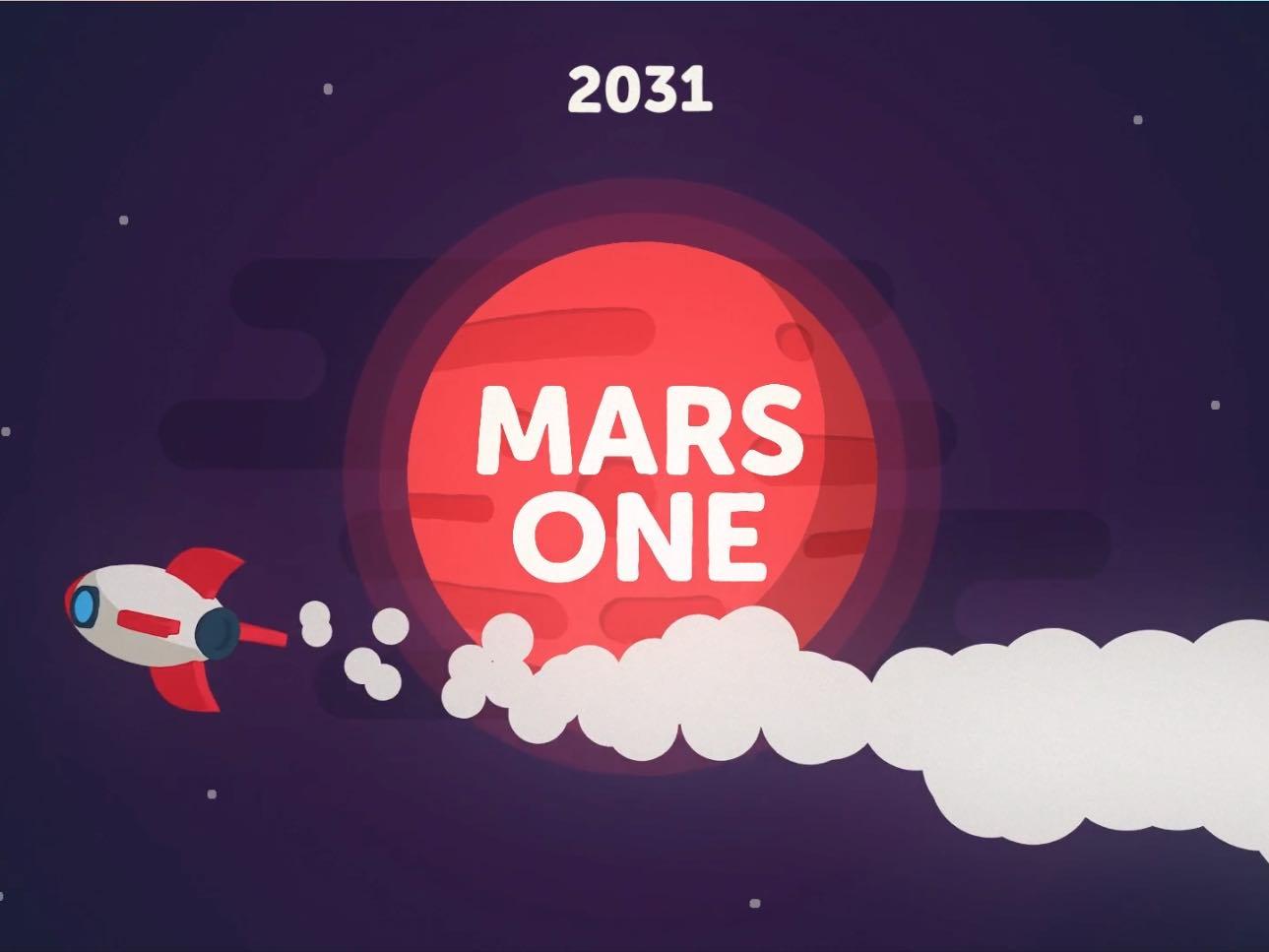 Mars One - Courrier International